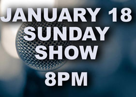 Special show January 18 @ 8pm
